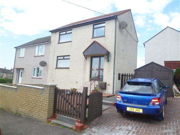 3 Bedrooms Semi Detached House for rent in Fleming Crescent, Saltcoats
