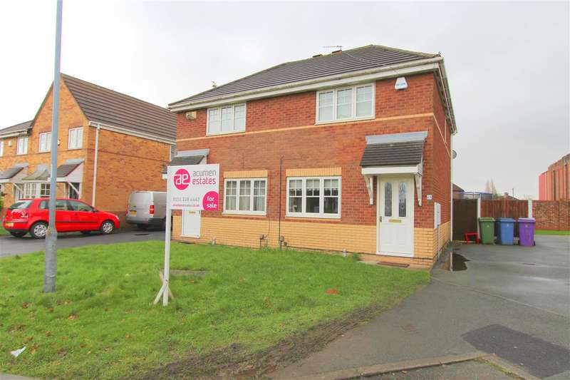 3 Bedrooms Semi Detached House for sale in Gemini Drive, Knotty Ash, Liverpool