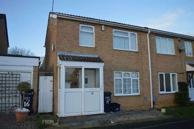 3 Bedrooms Semi Detached House for sale in Newstead Close, Ecton Brook, Northampton NN3 5EE