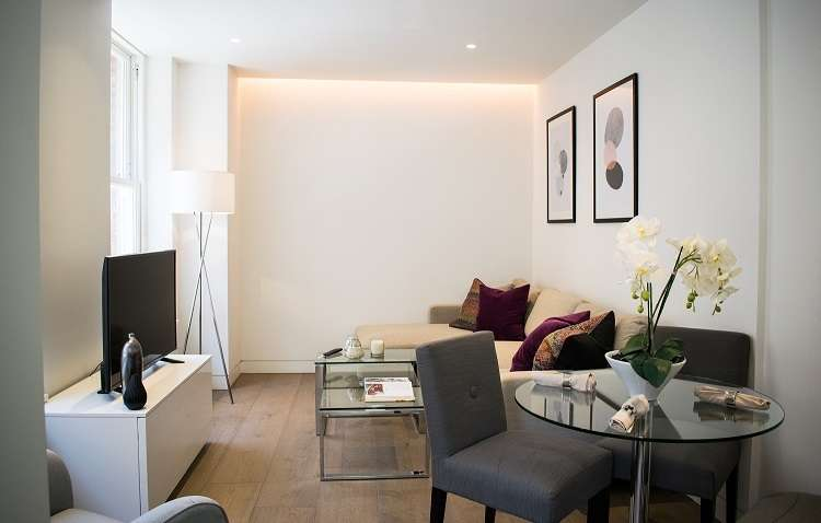 1 Bedroom Apartment Flat for rent in Serviced Apartments Marylebone Lane W1U 2NZ