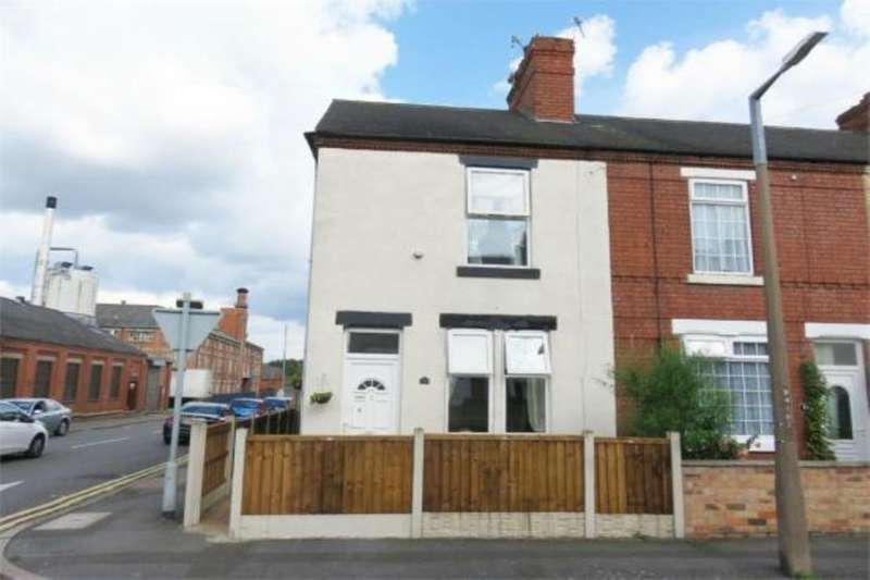 2 Bedrooms Property for sale in Wellington Street, Long Eaton, Nottingham, NG10