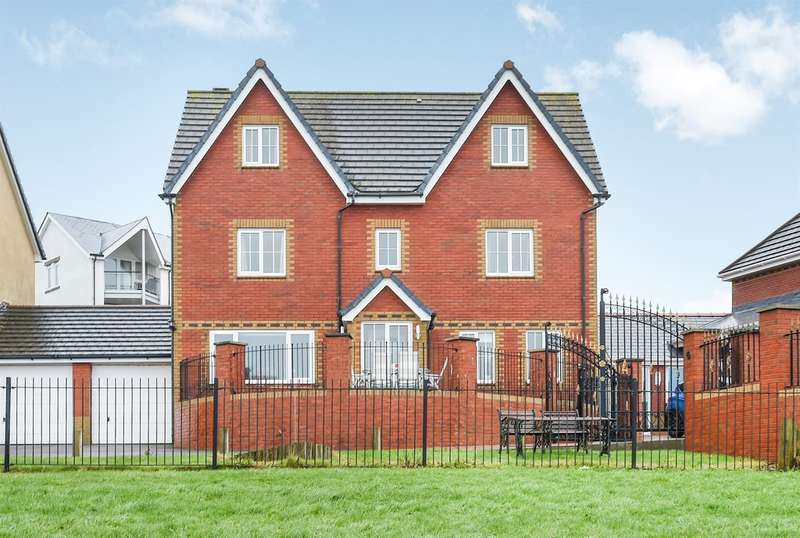 5 Bedrooms Detached House for sale in Pioden For, Barry