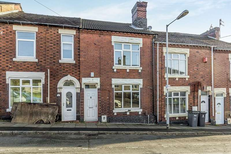 3 Bedrooms Terraced House for sale in Dyke Street, Stoke-On-Trent, ST1