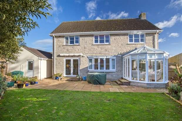 4 Bedrooms Detached House for sale in Knowle Lane, Wookey, Nr Wells