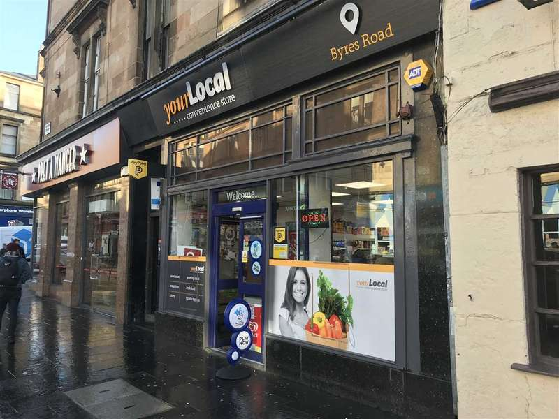 Shop Commercial for rent in Byres Road, Glasgow