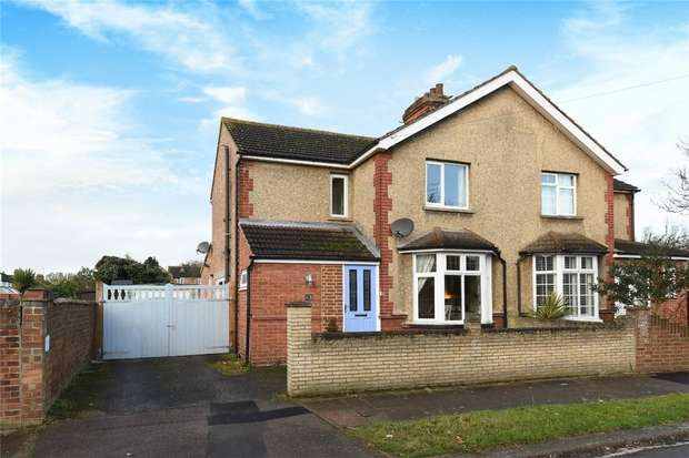 3 Bedrooms Semi Detached House for sale in Sandy Road, Bedford