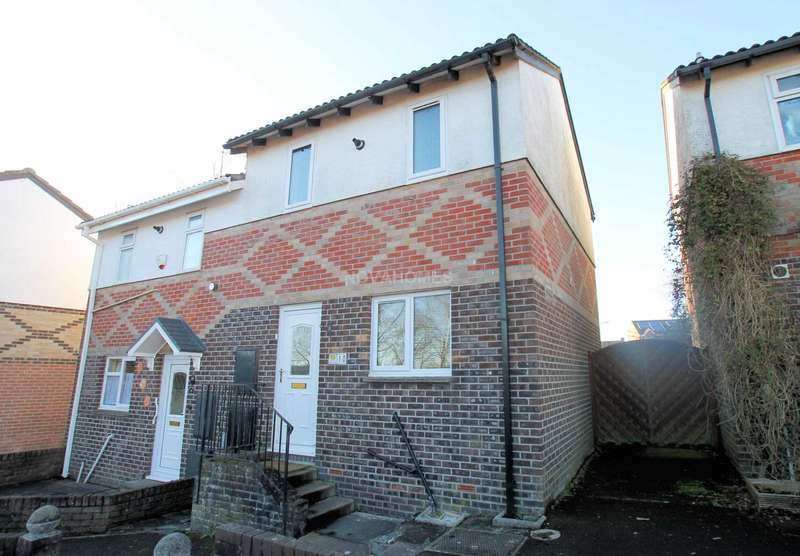 2 Bedrooms Semi Detached House for sale in Warwick Orchard Close, Honicknowle, PL5 3NZ