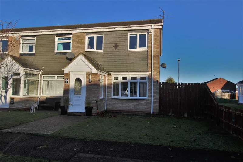 3 Bedrooms Terraced House for sale in Oakley Drive, Eastfield Green, Cramlington