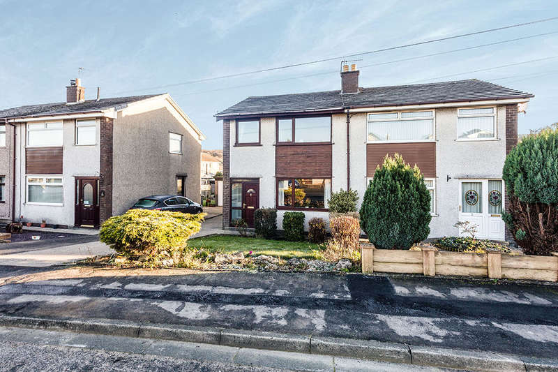 3 Bedrooms Semi Detached House for sale in Keats Avenue, Bolton Le Sands, Carnforth, LA5