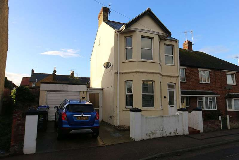3 Bedrooms Detached House for sale in Belmont Road, Westgate-on-Sea, Kent, CT8 8AX