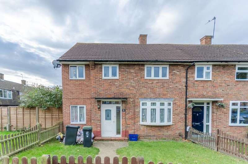 3 Bedrooms End Of Terrace House for sale in Audley Gardens, Debden, IG10