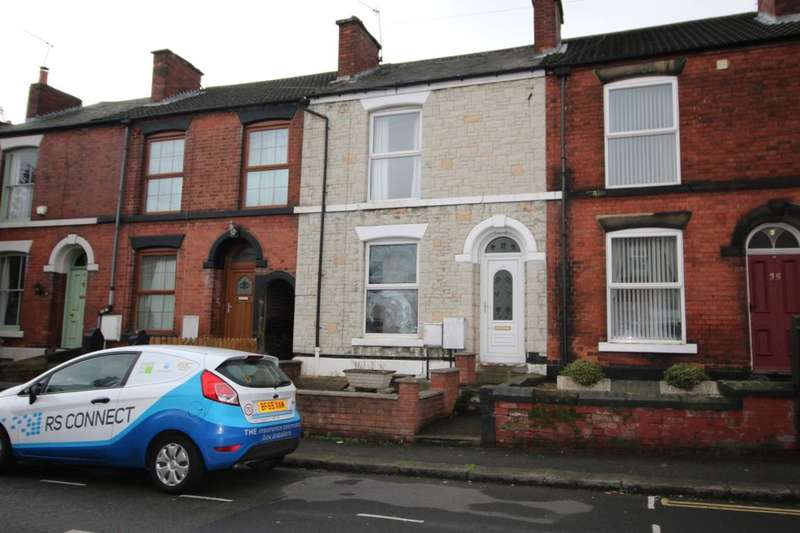 2 Bedrooms Terraced House for sale in St. Helens Street, Chesterfield, S41