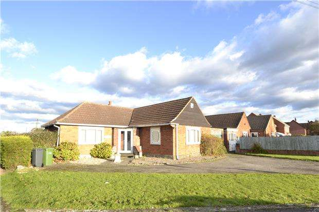2 Bedrooms Detached Bungalow for sale in Elmgrove Road East, Hardwicke, GLOUCESTER, GL2 4PY