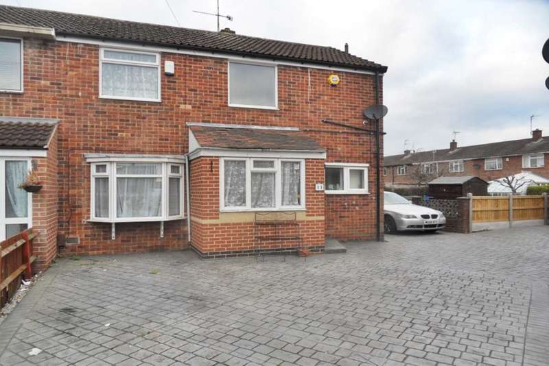 3 Bedrooms End Of Terrace House for sale in Dewsbury Close, Allenton
