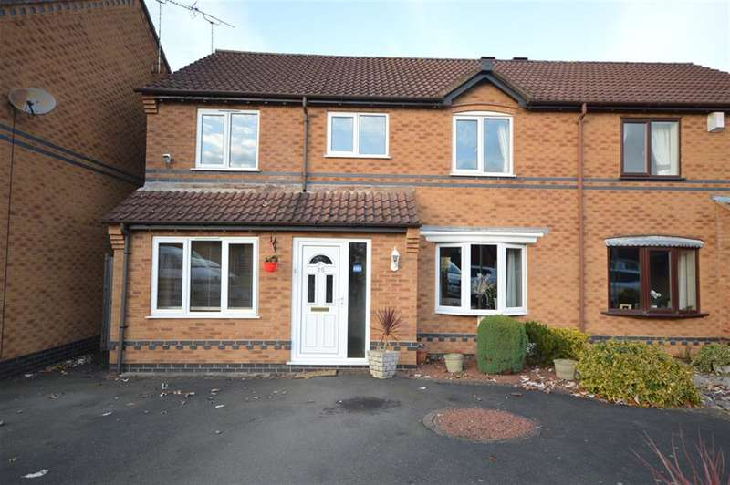 5 Bedrooms Semi Detached House for sale in Scalborough Close, Countesthorpe, Leicester, LE8 5XH