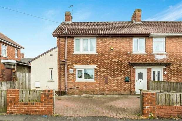 3 Bedrooms Semi Detached House for sale in Denecrest, Consett, Durham