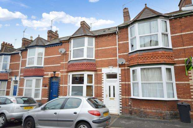 2 Bedrooms Terraced House for sale in Iddesleigh Road, Mount Pleasant, Exeter, Devon