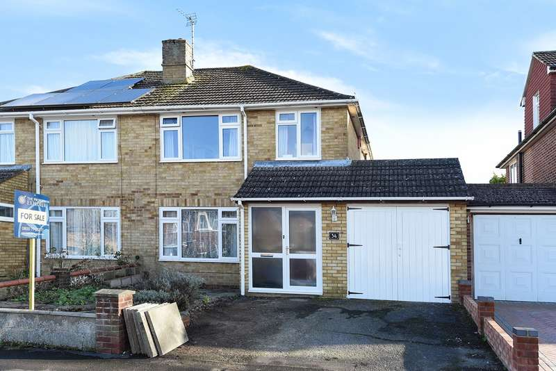 3 Bedrooms Semi Detached House for sale in Oaklands Way, Clarke Estate, Basingstoke, RG23