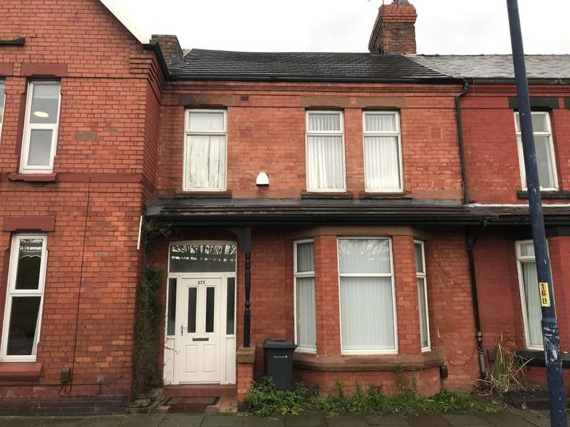 3 Bedrooms Terraced House for rent in Crosby Road South, Litherland, Liverpool, L21