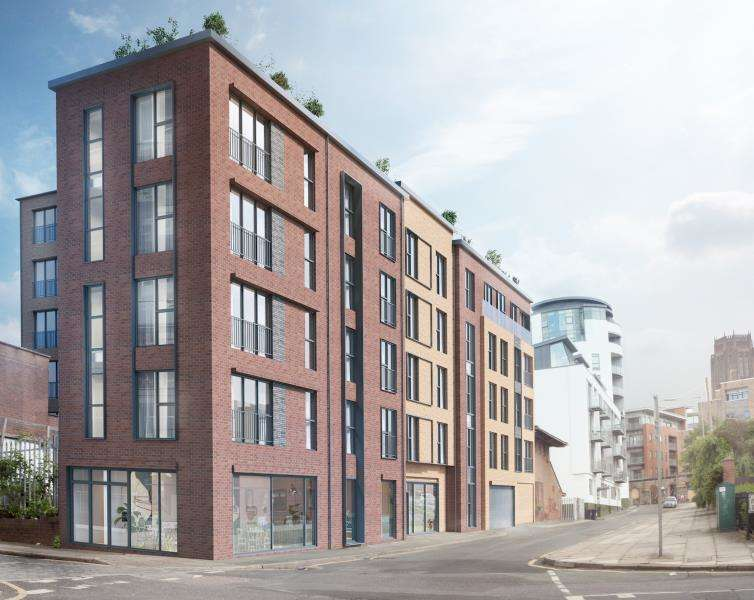 2 Bedrooms Apartment Flat for sale in Chevasse Building, Lydia Ann Street, Liverpool, L1
