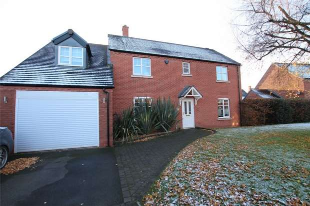 4 Bedrooms Detached House for sale in Crecy Place, Lichfield, Staffordshire