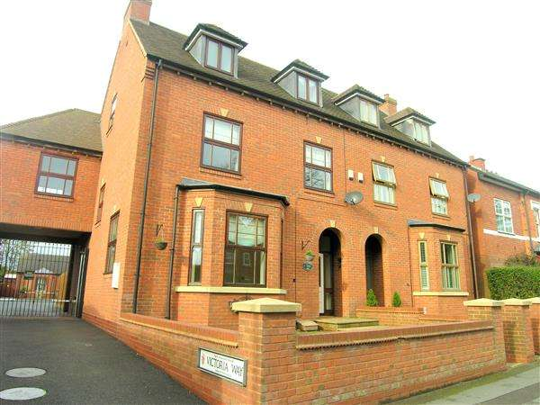 4 Bedrooms Semi Detached House for sale in Victoria Way, Coventry Road, Coleshill