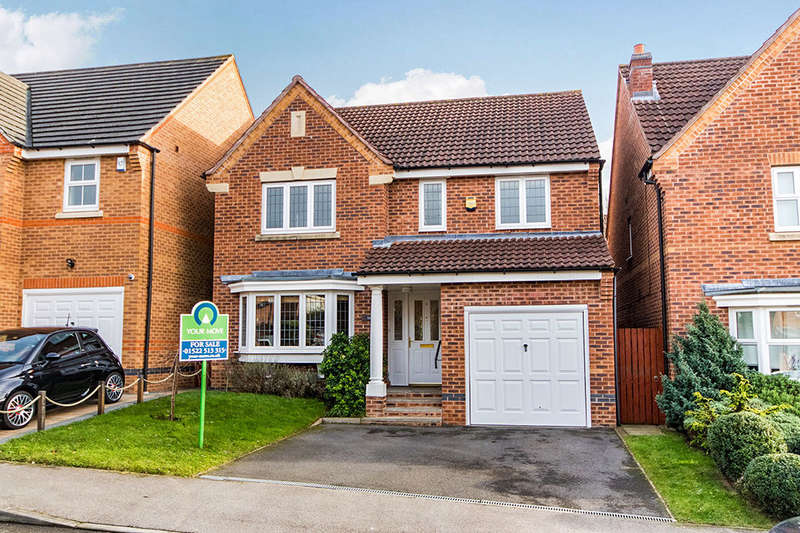 4 Bedrooms Detached House for sale in Berilldon Drive, Lincoln, LN1