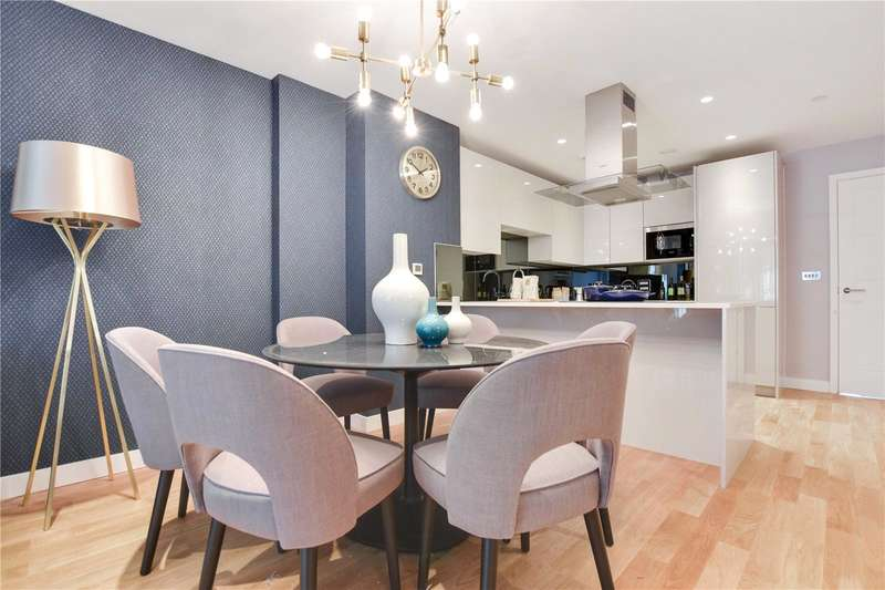 2 Bedrooms Flat for sale in Cursham Apartments, 20 Fergusson Mews, London, SW9
