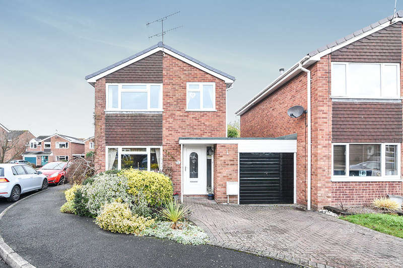 3 Bedrooms Detached House for sale in Hazel Close, DROITWICH, WR9