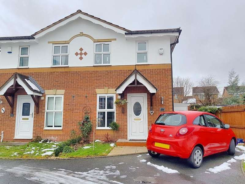 2 Bedrooms Semi Detached House for sale in HAYWOODS FARM, WEST BROMWICH, WEST MIDLANDS, B71 3QE