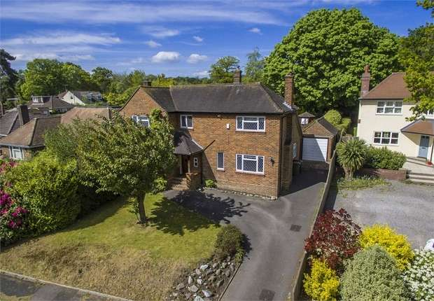 4 Bedrooms Detached House for sale in Western Road, Hiltingbury, Chandler's Ford, Eastleigh, Hampshire