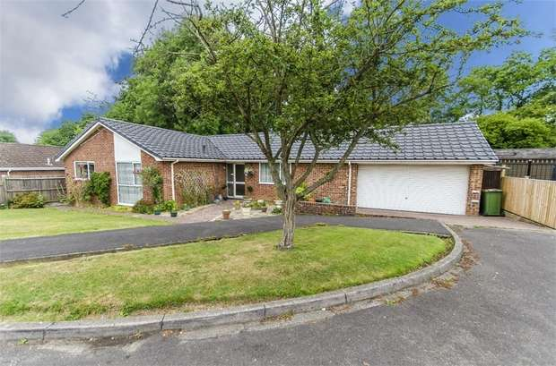3 Bedrooms Detached Bungalow for sale in Maytree Close, Fair Oak, EASTLEIGH, Hampshire
