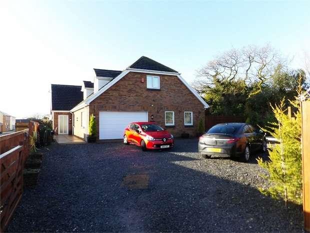 4 Bedrooms Detached Bungalow for sale in Church Road, Gorslas, Llanelli, Carmarthenshire