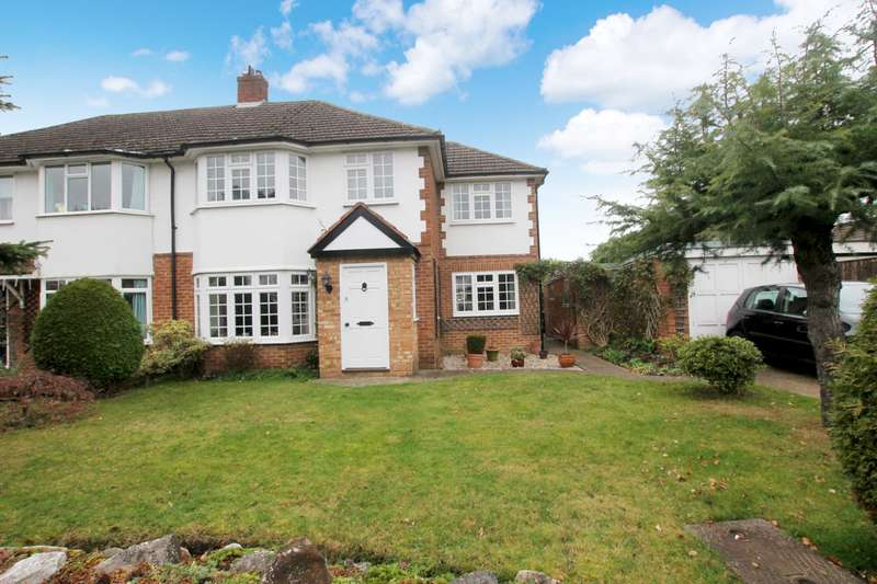 4 Bedrooms Semi Detached House for rent in Eden Close, New Haw