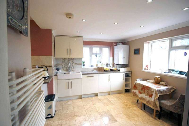 4 Bedrooms Semi Detached House for sale in Brocket Way, Chigwell, Essex, IG7