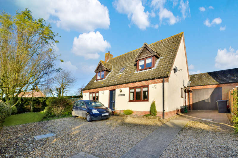 3 Bedrooms Detached House for sale in Skinners Lane, Metfield