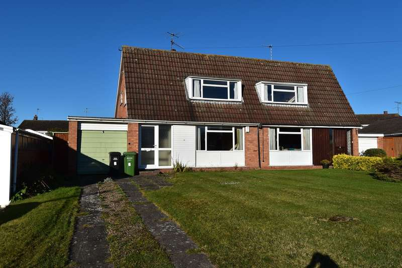 2 Bedrooms Semi Detached House for sale in Abberley Drive, Droitwich, WR9