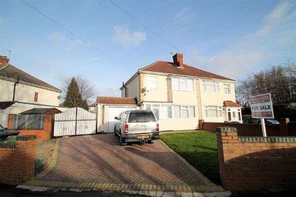 3 Bedrooms Semi Detached House for sale in Massbrook Road, Wolverhampton