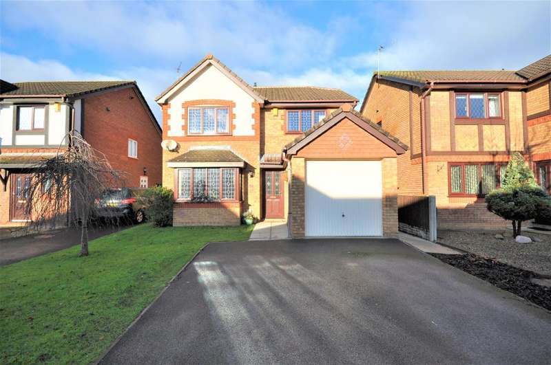 4 Bedrooms Detached House for sale in Hastings Avenue, Warton, Preston, Lancashire, PR4 1YZ