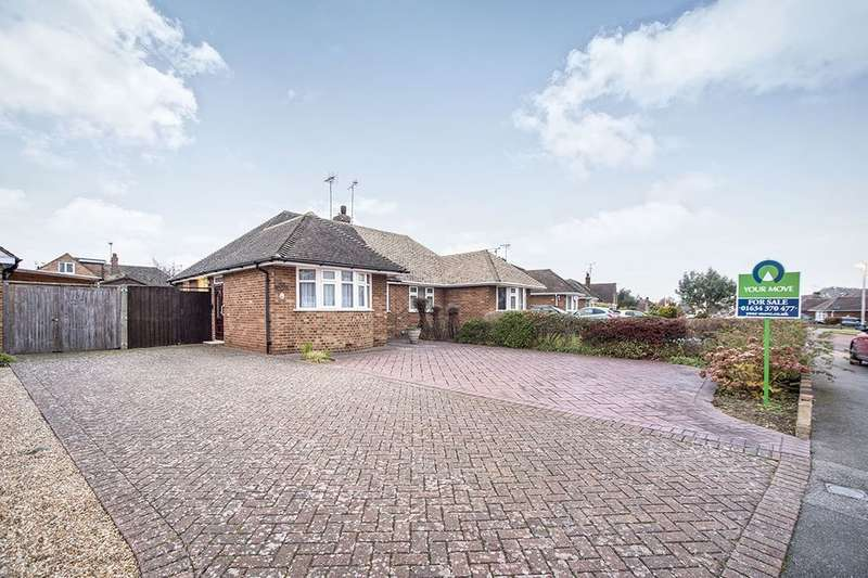 2 Bedrooms Semi Detached Bungalow for sale in Chalky Bank Road, Rainham, Gillingham, ME8