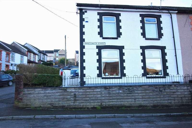 2 Bedrooms End Of Terrace House for sale in Nantgwyn Street, Tonypandy