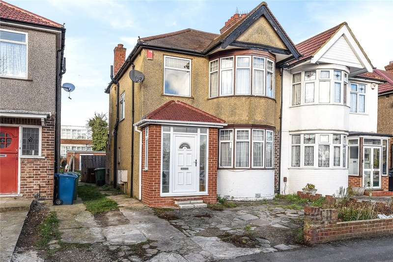 3 Bedrooms Semi Detached House for sale in Hartford Avenue, Harrow, Middlesex, HA3