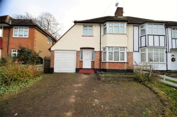 3 Bedrooms Semi Detached House for sale in Glenwood Road, Mill Hill, NW7
