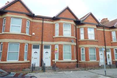 3 Bedrooms Terraced House for rent in Claughton Road, Birkenhead