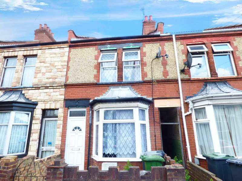 2 Bedrooms Terraced House for sale in Selbourne Road, Luton