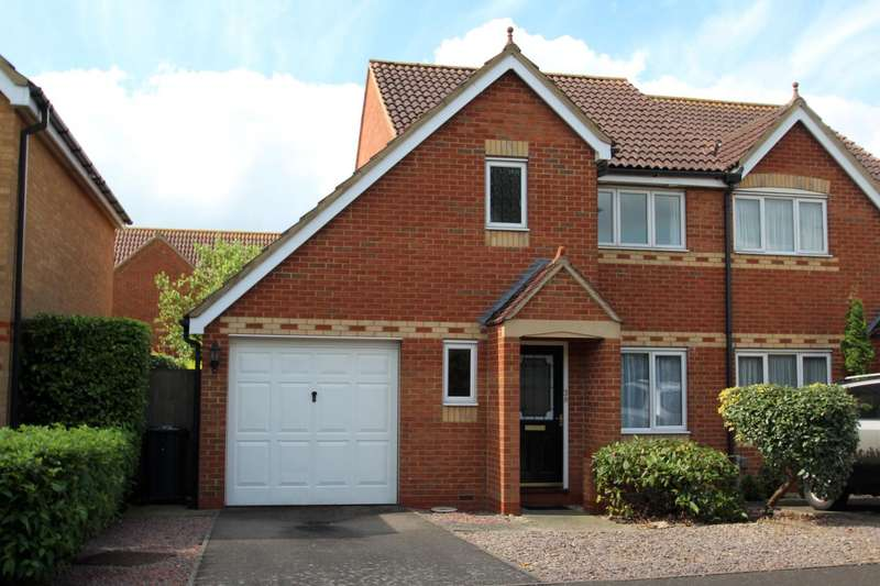 3 Bedrooms Semi Detached House for rent in Pound Road, Hemingford Grey, Huntingdon