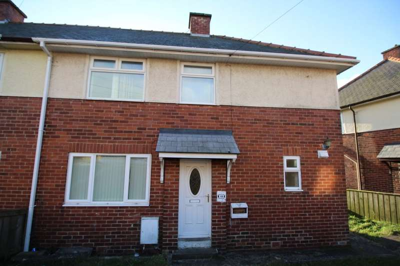 3 Bedrooms Semi Detached House for sale in Beech Grove, Burnhope, Durham, DH7