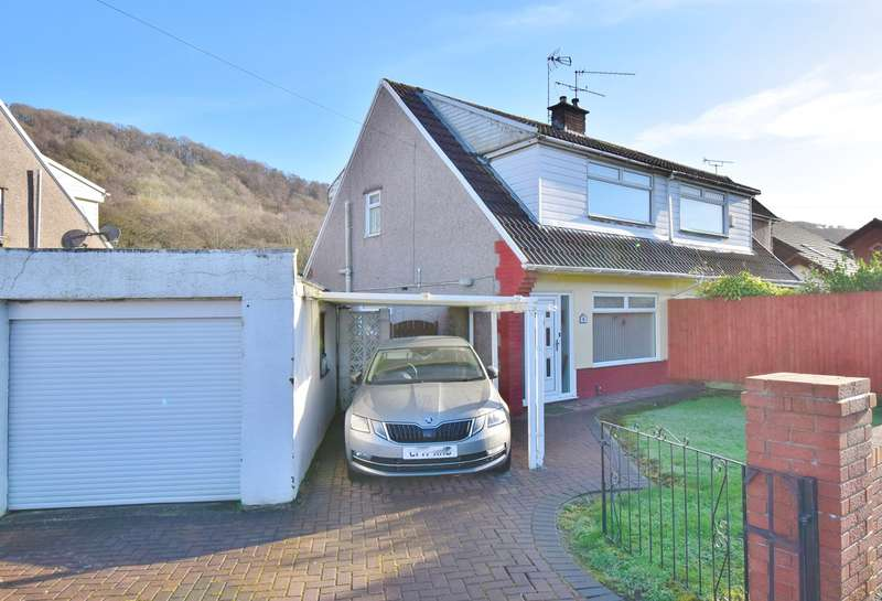 3 Bedrooms Semi Detached House for sale in Glyn Derwen, Llanbradach, Caerphilly, CF83