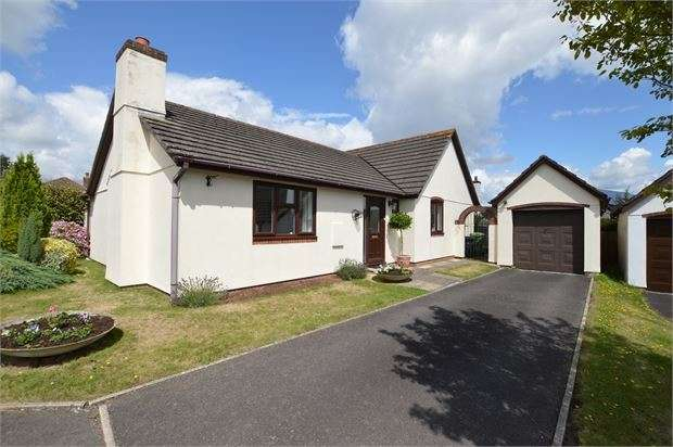 3 Bedrooms Detached Bungalow for sale in Abbotsridge Drive, East Ogwell, Newton Abbot, Devon. TQ12 6YS