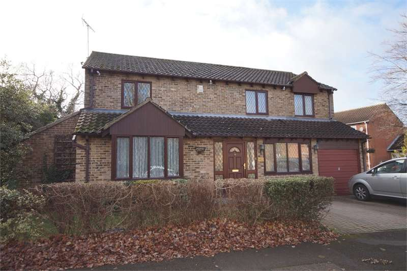 4 Bedrooms Detached House for sale in Tinwell Close, Lower Earley, READING, Berkshire